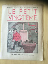 Tintin - Hergé - Le Petit Vingtieme du 26 novembre  1936 - N47 -TBE