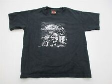 Harley Davidson T4690 Youth Boy's Size S Casual Graphic Cotton Tee Shirt