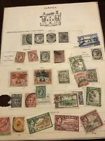 JAMAICA - COLLECTION OF OLD STAMPS