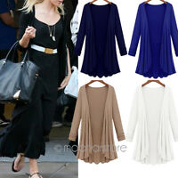 Women's Casual Loose Long Sleeve Cardigan Knitwear Coat Outwear Plus Size