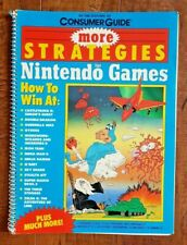 More Strategies for Nintendo Games by Consumer Guide Editors (1989, Softcover)