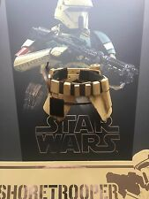 Hot Toys Star Wars Conjunto de Cinturón shoretrooper Rogue uno Suelto Escala 1/6th