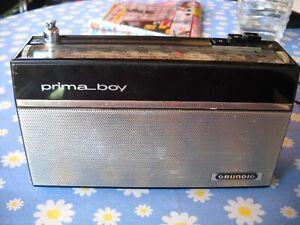 """alter GRUNDIG  """"Prima Boy 204"""" - defekt ?"""