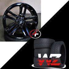20 inch Honda Wheels w Tires Gloss Black Fits Accord Ex Lx Coupe Sedan Civic