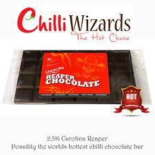 Carolina Sensenmann Chili Schokoladenriegel - 2.5% Carolina Reaper Chili 100g
