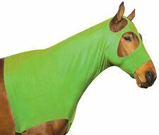 Perri's Lycra Mane Hood, Lime Green, X-Large