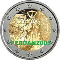 FRANCIA 2019 2 EURO FDC UNC MURO DI BERLINO FRANCE FRANKREICH ФРАНЦИЯ