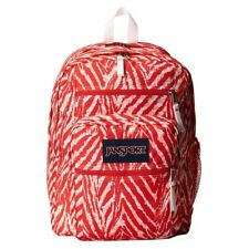 New JanSport Big Student Coral Peaches Wild Heart Backpack