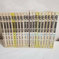 BANANA FISH Akimi Yoshida VOL.1-19 Manga Comic Complete Set From Japan