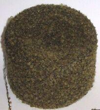 50g Bola tonos verdes 2 capas Boucle Bucle de lana y acrílico tejido de hilo Kilburn