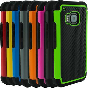 Für HTC ONE M7, M8,M9 Outdoor Case Hülle Bumper Tasche Schutzhülle Echtglasfolie