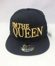 I am the Queen Snapback Cappellino Da Baseball Hip Hop era montato Piatto Picco Cappello
