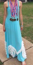 Pixie Girl By Vicki Sigg 12 Youth Ruffles Maxi Dress Chasing Fireflies Boutique