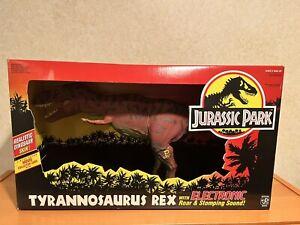 Vintage Kenner Jurassic Park Electronic Tyrannosaurus Rex T-Rex 1993 JP09 In Box