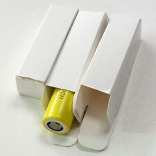 Best Pack DIY 10PCS Packing Paper For Single 18650 Battery Package Box White