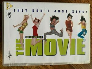 Spiceworld the Movie DVD 1997 Spice Girls Musical Comedy Feature Film