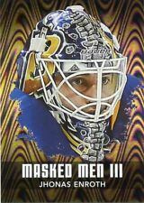10/11 BETWEEN THE PIPES MASKED MEN III MASK SILVER #MM-26 JHONAS ENROTH *44322