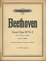 """"""" Sonate G-Dur Opus 49 Nr. 2 """" - Beethoven"""