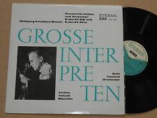 Menuhin - Mozart Konzert f. Violine u. Orch. LP  825462  Eterna STEREO nm