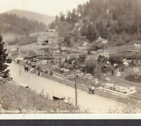 Tiny Town Real Photo 1920's Sanborn Turkey Creek Canyon Colorado RPPC PostCard