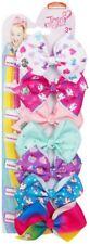 JoJo Siwa 8cm Bow 7 Days A Week Seven Multicolour Hair Bows Clip Gift - 2nd Set