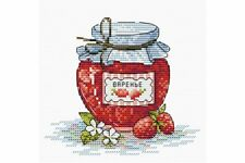 Cross Stitch Kit Strawberry jam M-073