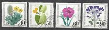 5892- SERIE COMPLETA SELLOS 1980 Nº905/8 FLORES FLORA NATURALEZA GERMANY