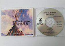 MURDER BY DEATH In bocca al lupo 4-track CD Album Sampler * Slimline jewel case