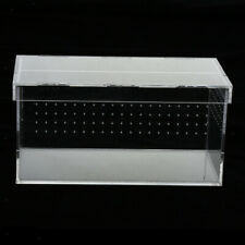 Clear Acrylic Pet Reptile Holder Terrarium Habitat Breeding Box Turtle Tank Cage