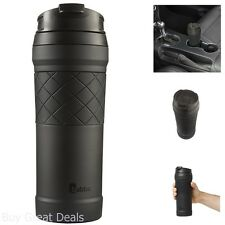 Coffee Mug Travel 16 Oz Stainless Steel Tumbler Taste Guard Black