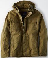 NWT American Eagle Men's Filled Military Jacket XXL 2X Olive Coat