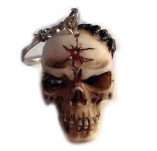 SKULL Totenkopf Eye Spider - Schlüsselanhänger Keyring
