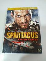 Spartacus Primera Temporada Completa - 5 x DVD Castellano English Region 2