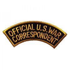 Ecusson / Patch - Official U.S. War Correspondent