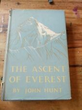 The Ascent Of Everest By John Hunt 1954
