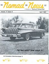 Nomad News Magazine April 1987 Dual Quad '57 EX 032217nonjhe