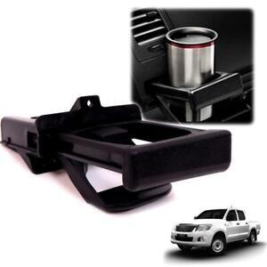 Fit 05 06 07 08 09 - 15 Toyota hilux SR5 KUN pickup Left Dash Cup Holder black