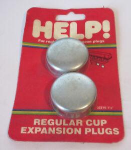"""Set of 2 Dorman Help 02216 1.5"""" Expansion Plug Frost Plug 1-1/2"""" 555-027 362654"""