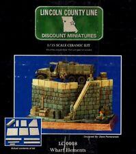 LINCOLN COUNTY LINE MINIATURES LC 0008 WHARF ELEMENT ELEMENTO MOLO 1/35 CERAMIC