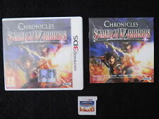 3DS : SAMURAI WARRIORS : CHRONICLES - Completo ! Compatibile 2DS e New 3DS XL