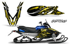 Yamaha APEX Decal Wrap Graphic Sticker Kit Sled Snowmobile 2012-2016 NIGHTWOLF Y