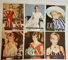 PRINCESS DIANA A Life In Fashion ~ Parts 1-6 Complete Set ~ Daily Mail