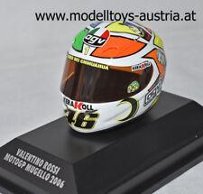 Helm AGV Valentino ROSSI 2006 Moto GP MUGELLO 1:8 Minichamps