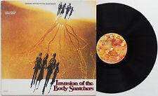 Invasion Of The Body Snatchers - Soundtrack / OST Denny Zeitlin LP 1978 US PRESS