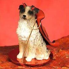 Australian Shepherd Brown Devil Dog Tiny One Figurine Statue