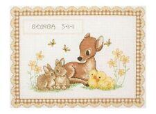 Anchor-contato CROSS STITCH KIT-NASCITA record-Baby Animali-acs23