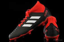 519d323becab adidas Mens Predator 18.3 Firm Ground Football BOOTS Studs Trainers Sports  Shoes