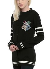 Harry Potter Hogwarts Crest Cardigan Cosplay Junior Size XXL Rare NWT!
