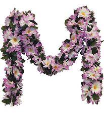 Lavender Daisy Chain Garland ~ 5 ft Silk Wedding Flowers Arch Gazebo Chuppah