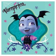 VAMPIRINA BEVERAGE NAPKINS VAMPIRE HALLOWEEN BIRTHDAY PARTY TABLE DECORATION
